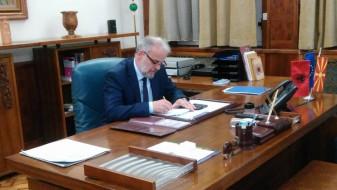 Талат Џафери ќе се сретне со 16 амбасадори во Собранието