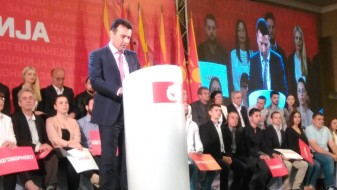 (ВИДЕО) Заев: Нов почеток за Македонија, граѓаните избраа демократски вредности наспроти режим