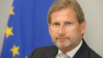 Голем ден за двете земји: Хан им честиташе на Србија и на Црна Гора за отворањето на поглавјата
