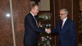 Џафери ќе се залага за поинтензивна парламентарна соработка со Норвешка