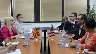 Дескоска се сретна со амбасадорот на САД, Џес Бејли
