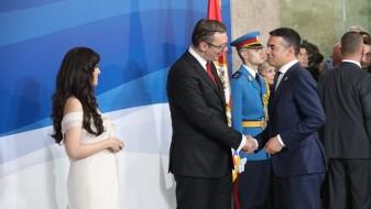 Димитров беше гостин на инаугурацијата на Вучиќ