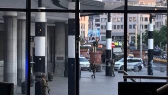 """(ВИДЕО/ФОТО) Напад во Брисел: Бомбашот ликвидиран, извикувал """"Алах Акбар"""""""