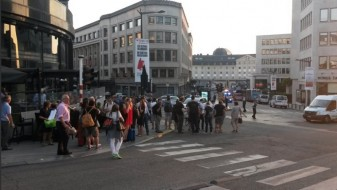 (ВИДЕО)Паника во Брисел: Експлозија на главната железничка станица