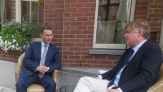 """Груевски се сретна со генералниот секретар на ЕПП и директорот на """"Вилфред Мартенс"""" центарот"""