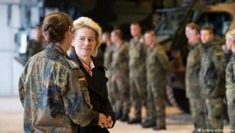 Германскиот министер за одбрана повика на зголемување на буџетот на армијата