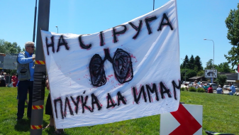 """""""На Струга плуќа да имам"""" – нов протест против депонијата во Струга"""