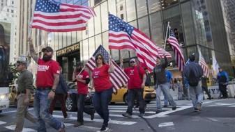 Протести против Трамп во САД и светот