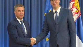 Вучиќ: Односите на Србија и Русија најдобри во историјата