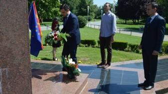 Струмица ја одбележа 61-годишнината од раѓањето на Борис Трајковски