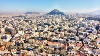 Ѓубрето ги прекри атинските улици