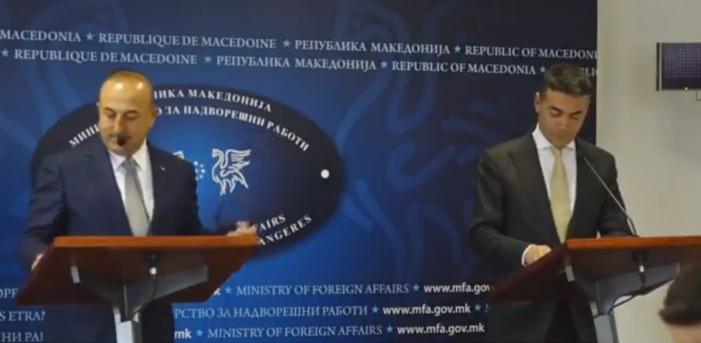 (ВИДЕО) Чавоушоглу: Македонија најмногу заслужува членство во НАТО, ѝ се нанесува голема неправда