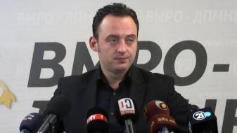 Ристовски: СДС сака да инсталира партиски кадри во судството