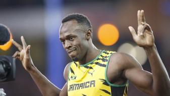 Болт со победа се прости од публиката во Јамајка (Видео)
