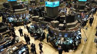 Раст на цените на акциите на Волстрит