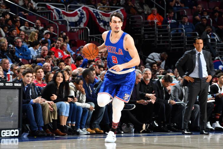 НБА  Дарио Шариќ во руки петорката
