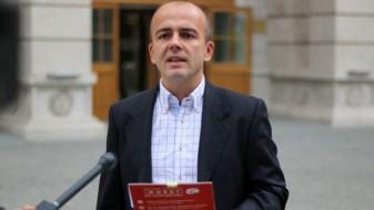 ВМРО-ДПМНЕ: Тевдовски во својот познат конфузен стил зборуваше за презадолженост на државата