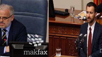 """(ВИДЕО) Димовски: """"Не сакаме турканици"""", Џафери: """"Нема потреба да ви објаснувам"""""""