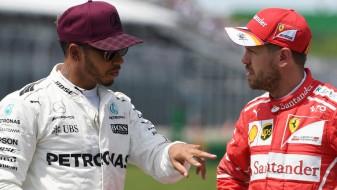 (Видео) Инцидент помеѓу Хамилтон и Фетел, суспендирана трката во Баку