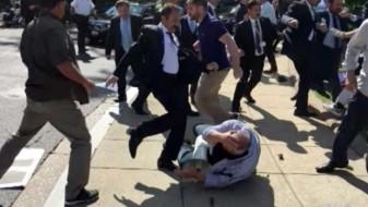 """Германија ставила """"рампа"""" за телохранителите тепачи на Ердоган"""
