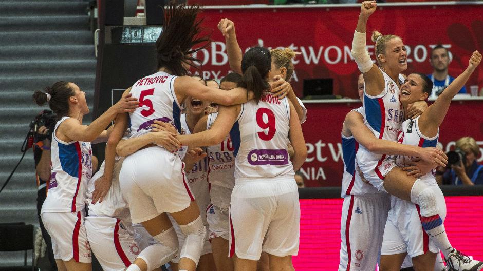 Србија и Летонија домаќини на Европското првенство за кошаркарки