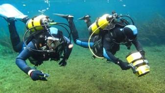 Акција за подводно чистење на Охридското Езеро