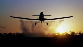 Најава за прскање против комарци