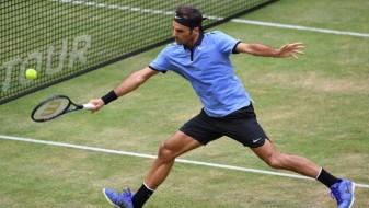 Федерер доминантно до титулата во Хале
