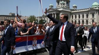 Вучиќ ќе биде инаугуриран во нов  претседател на Србија