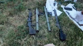 (ВИДЕО)Во земјен канал кај Блаце пронајдено оружје