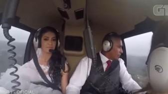 (ВИДЕО)Бразилска невеста погина со хеликоптер неколку минути пред венчавката