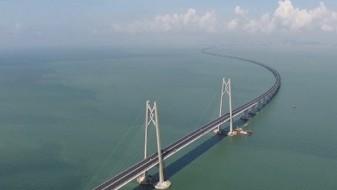 (ВИДЕО) Изградбата на најдолгиот поморски мост на светот при крај