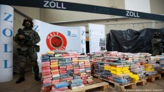 Во Хамбург запленети речиси четири тони кокаин