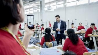 (ВИДЕО) Заев во Штип: Од септември ќе стартува покачувањето на минималната плата на 12.000 денари