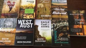 Девет романи од Божин Павловски објавени во Австралија