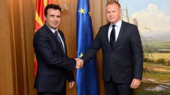 Заев-Безак: Словачка е подготвена да ѝ помогне на Македонија за евроатлантските интеграции