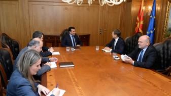 Заев – Жбогар: Брисел гледа отворени можности за напредок на Македонија