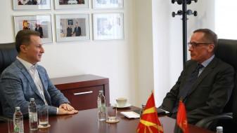 Средба Груевски – Гарет: Западните партнери да го поддржат брзото зачленување на Македонија во ЕУ и НАТО