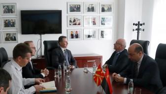 Груевски и бугарскиот амбасадор разговараа за договорот за добрососедство