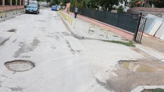 Општина Кисела Вода ќе ги крпи дупките на улицата Доситеј Обрадовиќ