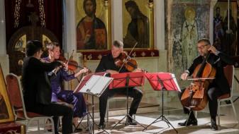 """Гудачкиот квартет """"Диотима"""" одржа концерт за паметење на """"Охридско лето"""""""