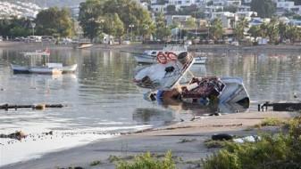 (ФОТО/ВИДЕО) Цунами во Бодрум по силниот земјотрес