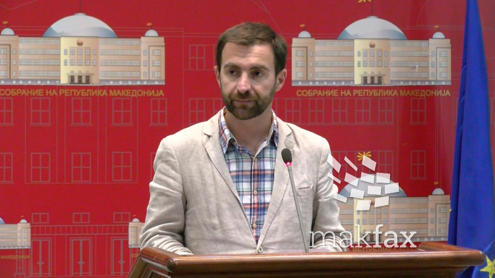 Димовски бара прекин на расправата за Зврлевски  Во салата има повеќе новинари отколку пратеници