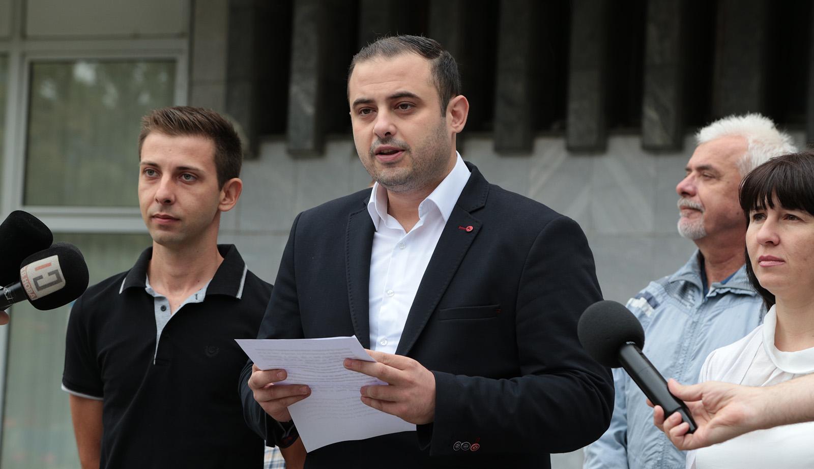 Ѓорѓиевски  СЈО води органзирана хајка против ВМРО ДПМНЕ