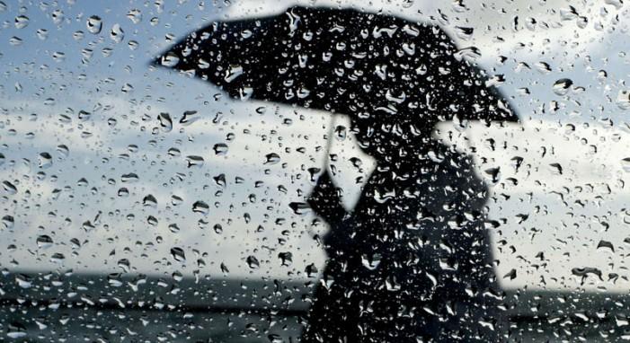 Променливо облачно време со врнежи од дожд