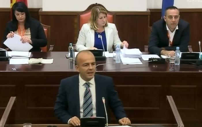 (ВИДЕО) Тевдовски: Старата власт оставила долг од 2,4 милијарди денари во областа на културата