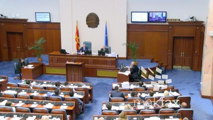 Денеска во Собранието интерпелации на министрите Николовски и Царовска