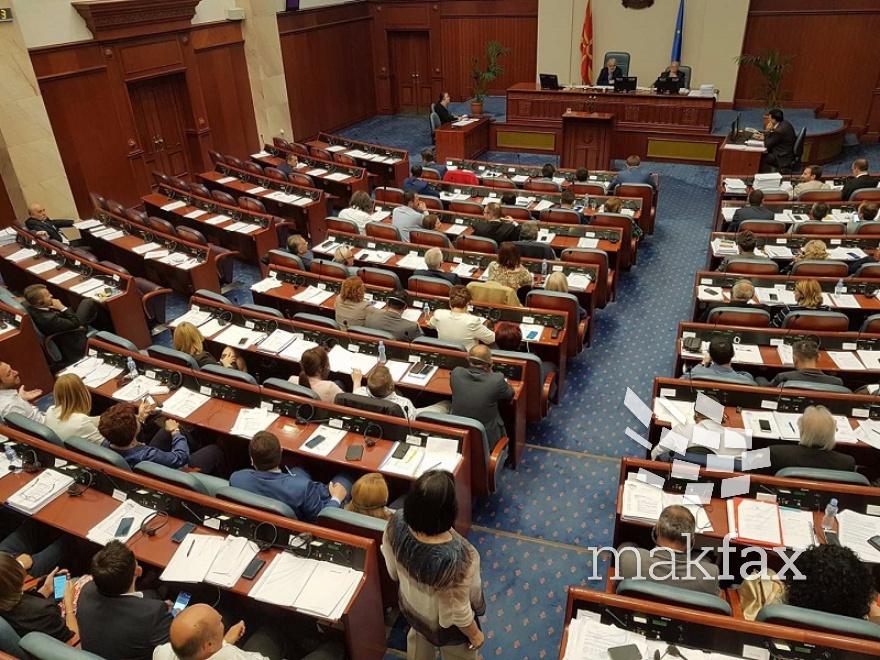 Работен викенд за пратениците  Седницата за разрешувањето на Зврлевски ќе продолжи утре