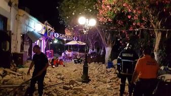 Двајца загинати, најмалку 500 повредени во земјотресот во Грција и Турција