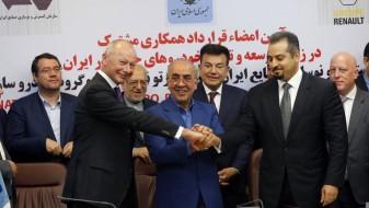 """Иран го потпиша најголемиот автомобилски договор со """"Рено"""""""